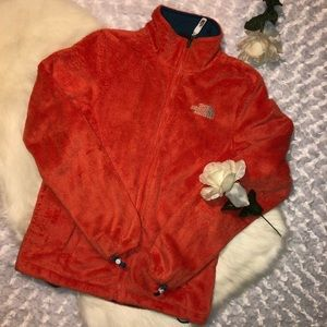 Womens North Face Orange Jacket Size Small